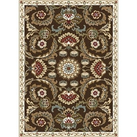 New Persian Floral Design Multi Color Cream Brown Blue Red Polyester Bedroom Living Room Area Rug Carpet