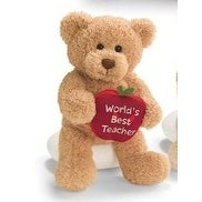 Gund World's Best Teacher Teddy Bear