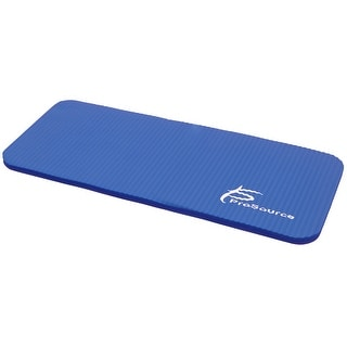 ProsourceFit Yoga Knee Pad and Elbow Cushion 5/8 Fits Standard Mats for Pain Free Joints, Blue - 9L x6H x4W