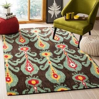 Safavieh Handmade Ikat Madisen Modern Wool Rug