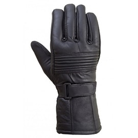 Original Drum Dyed Cowhide Motorcycle Biker Riding Gloves Thinsulate Lining G4