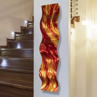 Statements2000 Abstract 3D Metal Wall Art Modern Hanging Sculpture by Jon Allen