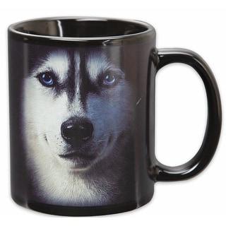 Siberian Husky Face 11oz Coffe Mug - Multi