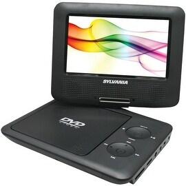 "Sylvania 7"" Swivel-Screen Portable Dvd Player (Black)"