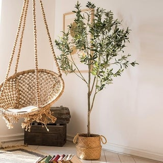 RusticReach Artificial Olive Tree