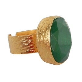 Helene Jewelry Large Jade Ring
