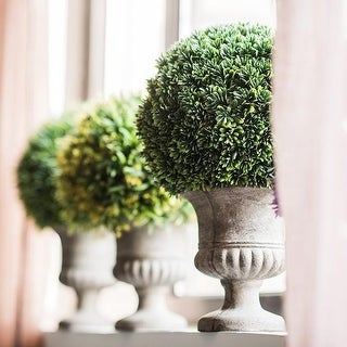 RusticReach Faux Cypress Topiary