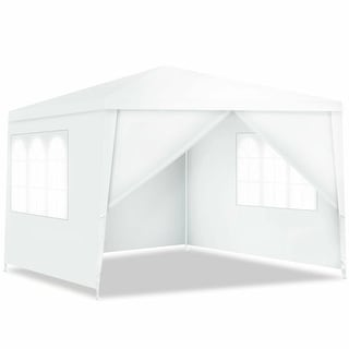 Costway Canopy Party Wedding Event Tent 10'x10' Heavy Duty Outdoor