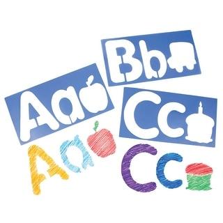 Big Alphabet and Picture Stencils
