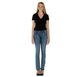 Lola Classic Straight Jeans, Kristine-MLB