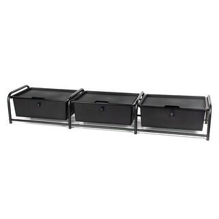 3 drawer Underbed Storage with Lids