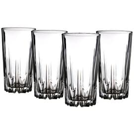 Palais Glassware 'Diamant' Collection; High Quality Diamond Cut Glass Set