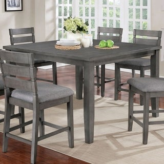 The Gray Barn Park House Transitional Grey 54-inch Dining Table