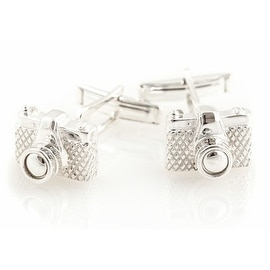Solid Sterling Silver Camera Cufflinks Photographer Photography Pictures