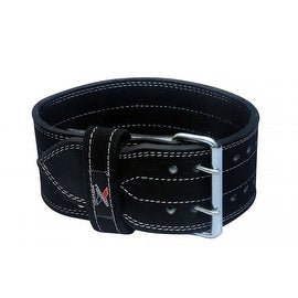 Power Weight Lifting Belt Heavy Duty Gym Fitness Training Leather Belt BT1