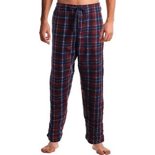 Rugged Frontier Men's Fleece Plaid Casual Sleepwear Lounge Pants