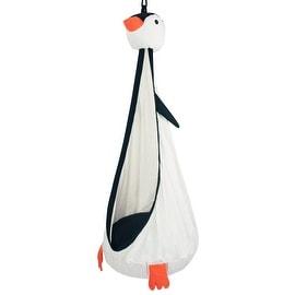 Driftsun Hammock Pod Kids Swing / Outdoor and Indoor Children's Hammock Chair Nook - Hardware Included (Penguin)