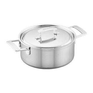 Demeyere Industry 5-Ply 5.5-qt Stainless Steel Dutch Oven - Stainless Steel