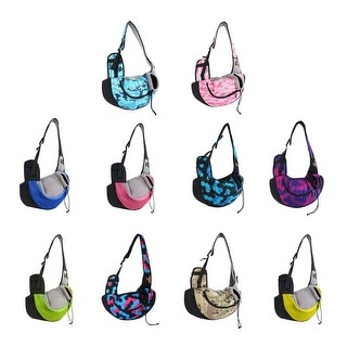 Onding Authorized Pet Dog Carrier Backpack Bag Pouch Single Shoulder Carry Tote
