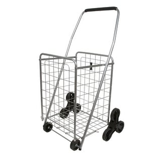 Helping Hand FQ39905 Stair Climber Folding Cart with Wheels and Handle