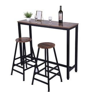 Household Pub Table Counter Height Dining Table For Kitchen