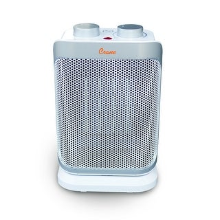 Crane Oscillating Mini Tower Space Heater, 1,500 Watt Ceramic Heater