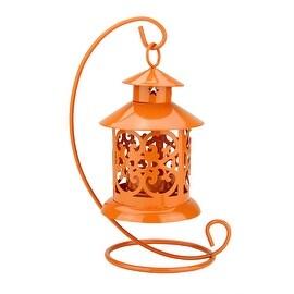 "Set of 3 Decorative Black Wide Colonial Design Glass Pillar Candle Lanterns 7.75"" - 19.75"""