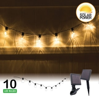 SOCIALITE Solar Edison LED String Patio Lights