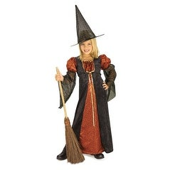 Sparkle Witch Magic Child Halloween Costume