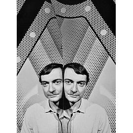 Roy Lichtenstein, Vintage 1968 Gelatin Silver Photograph, Jack Mitchell