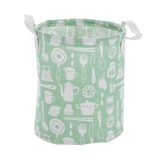 "Cotton Linen Foldable Storage Basket Bin Case Toy Clothes Organizer 8.3"" x 9.8"" - 8.3"" x 9.8"""