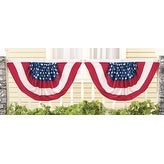 Stars and Stripes Flag Bunting - Set of 2