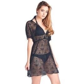 Women's Beach Dress Cover Up Crochet V-Neck Sleeveless Swimwear