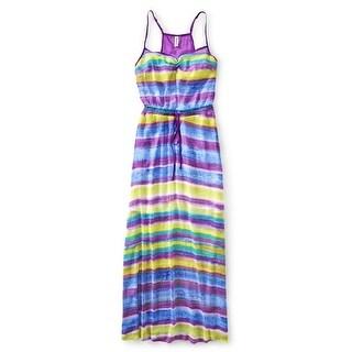 Aeropostale Womens Chiffon Maxi Dress