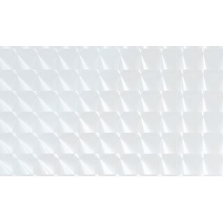 "Brewster FAB13839 Squares 35.43"" x 59"" Window Size Geometric Static Cling Vinyl Window Film - Transparent"