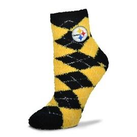 Pittsburgh Steelers Argyle Sleep Socks
