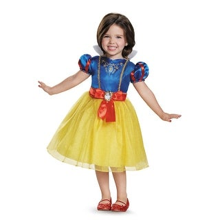 Disguise Snow White Classic Toddler Costume - Blue/Yellow