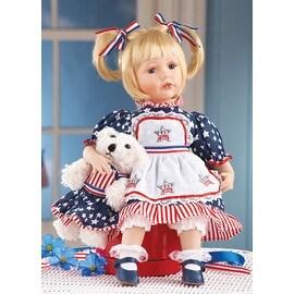 Collectible Patriotic Amelia Americana Doll