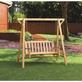 Rustic Garden Swing