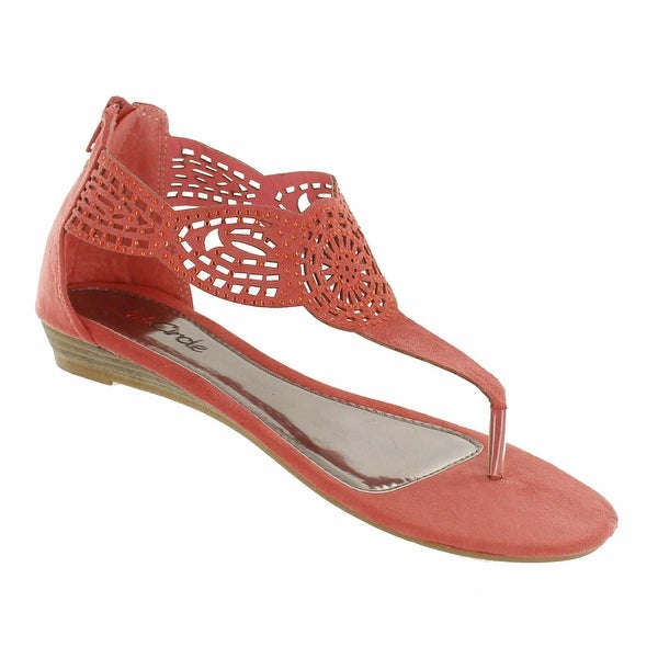 Red Circle Footwear 'Circus' Laser Cut Sandal