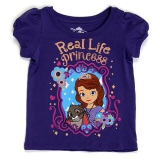 Real Life Princess Toddlers Purple T-Shirt