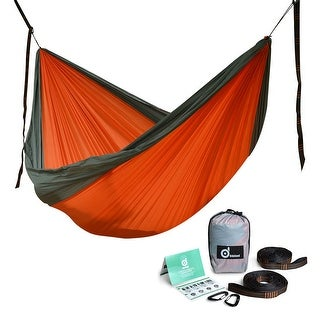 Double Person Travel Outdoor Camping Tent Hanging Hammock Bed Lightweight Nylon