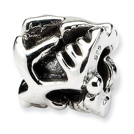 Sterling Silver Reflections Kids High Heels Bead