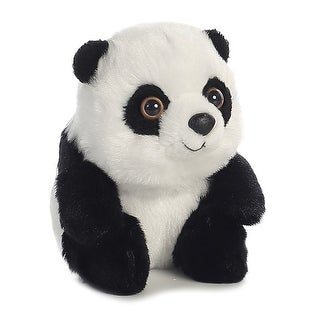 "Aurora 5"" Plush Stuffed Animal - Lin Lin Panda - White"