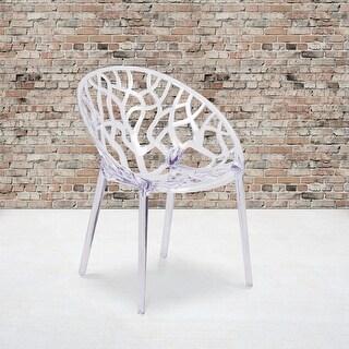 Porch & Den Medford Transparent Stacking Dining Chair