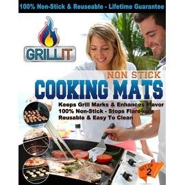 Grill It BBQ Grill Mat-Set of 2