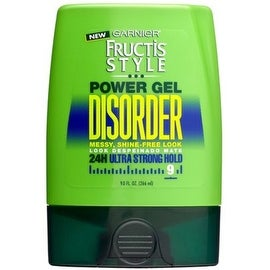 Garnier Fructis Style Disorder Power Gel, 24H Ultra Strong Hold 9 oz