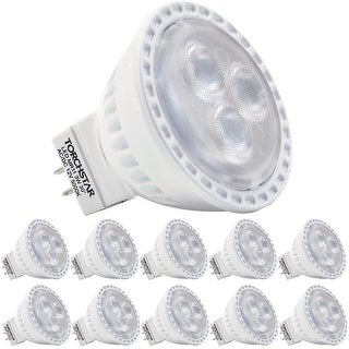 TORCHSTAR MR11 GU4 LED Light Bulb, 35W Equivalent 3W, 5000K Daylight