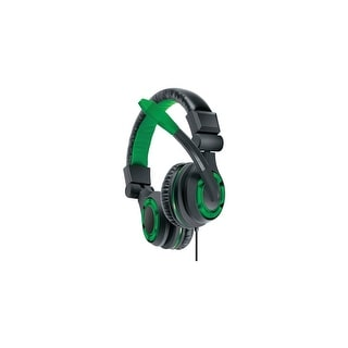 dreamGEAR: GRX-340 Advanced, Wired Stereo Gaming Headset for XBOX One Includes Inline Dual Volume Control For Chat and Game