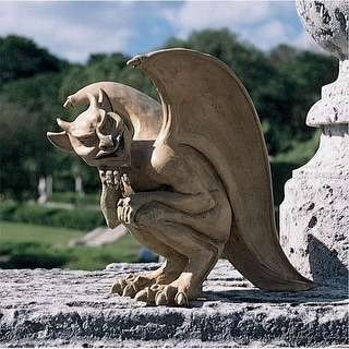 Design Toscano Halloween Legend of the Cambridge Hopping Gargoyle Sculpture